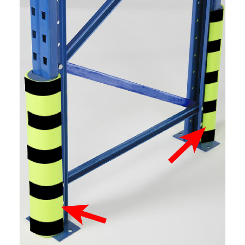 TTF Introducing new Rack Armour to prevent your warehouse rack and shelving damage from forklifts and hand pallet trucks.