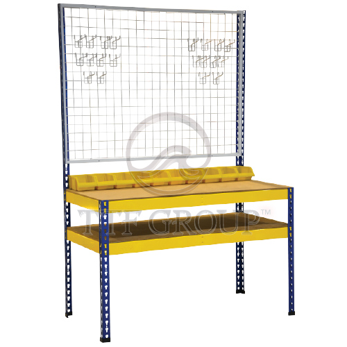 Boltless Workbench 2 Shelve | Malaysia Racks | Storage Rack Manufacturer | Shelving Rack Supplier