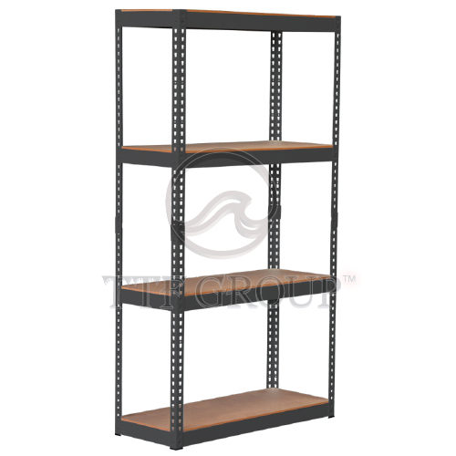 Black Boltless DIY Rack | Storage Racks | Shelving Racks | Display Rack