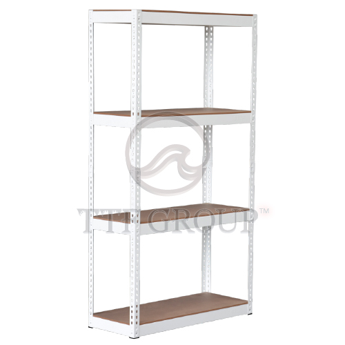 White Boltless DIY Rack | Storage Racks | Shelving Racks | Display Rack