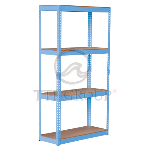 Blue Boltless DIY Rack | Storage Racks | Shelving Racks | Display Rack
