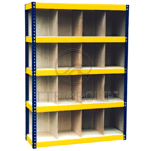 Pigeon Hole Boltless Rack | Warehouse Storage | Malaysia Racking Exporter | Storage Racks Manufacturer | Shelving Rack Supplier