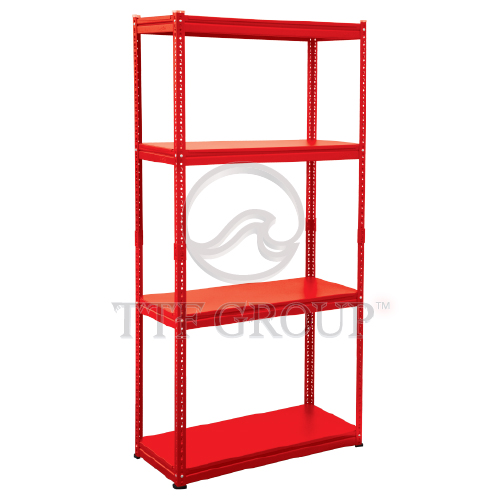 Red Boltless Instyle Rack | Storage Racks | Shelving Racks | Display Rack