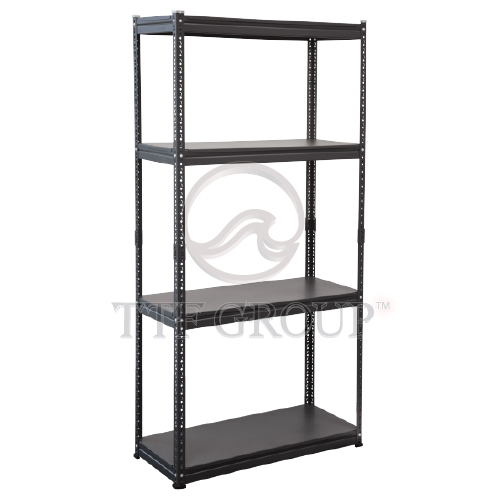 Black Boltless Instyle Rack | Storage Racks | Shelving Racks | Display Rack
