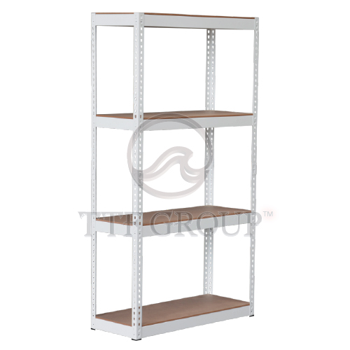 Light Grey Boltless DIY Rack | Storage Racks | Shelving Racks | Display Rack