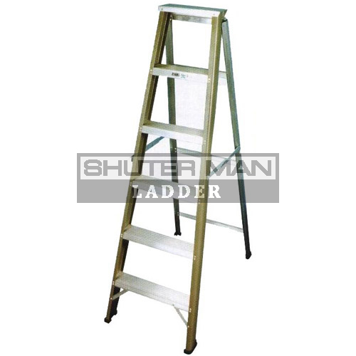 Aluminium Single Sided Heavy Duty Ladder Single Sided