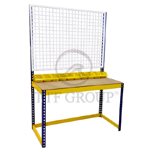 Boltless Workbench 1 Shelve | Malaysia Racks | Storage Rack Manufacturer | Shelving Rack Supplier