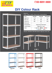 Botless DIY Rack | Metal Storage Racks | Display Racking | Steel Rack