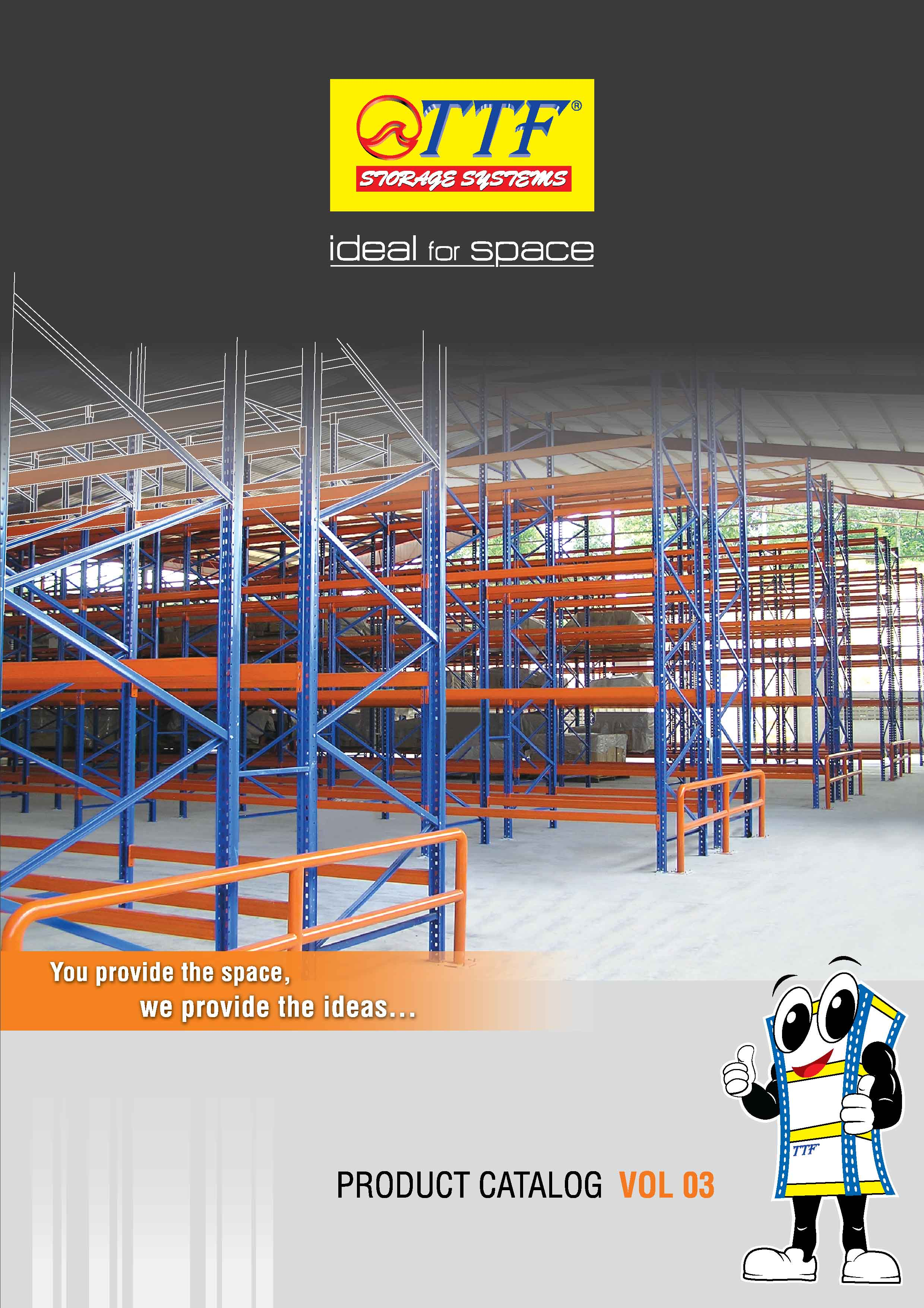 TTF Storage Racking System Catalogue Vol 3